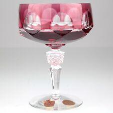 Nachtmann Sektglas rosé Sektschale Schale Antika magenta Bleikristall KN4 W4A