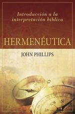 Hermeneutica: Introduccion a la Interpretacion Biblica (Paperback or Softback)