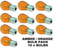 10x 343 Ambre Orange Voyant Lumineux Voiture Ampoules 12 V 21 W BA5S Flash Signal 382