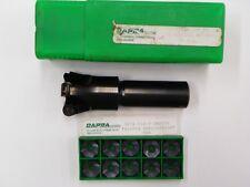 """DAPRA HVEM1.50X1.00R5-3, 1-1/2"""" INDEXABLE CUTTER WITH OXCH 534D DMP256   A820"""