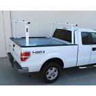 Adjustable Pickup Truck Ladder Rack Aluminum Lumber Cargo Contractor Utility