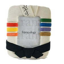 Deluxe Picture Frame with Ranking Belts by Framology 6x9