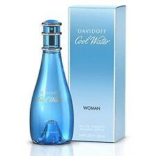 Cool Water DAVIDOFF 3.4 oz 100 ml Women EDT * Perfume NIB *