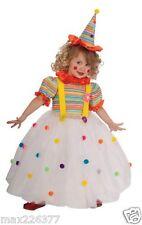 New Candy Clown dress Halloween Costume Medium girl 5-7 yrs