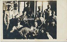 Foto/AK Soldaten-Musiker-Geige-Akkordeon 1.WK (i387)