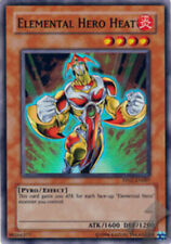 YuGiOh Elemental Hero Heat - PP02-EN007 - Super Rare - Unlimited Edition Heavily
