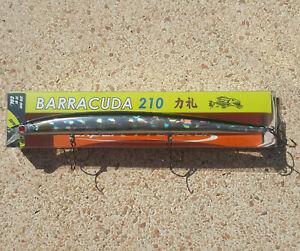 Artificiale Long Jerk Barracuda 210 - 31gr  Col. 3, ACC, Slow Sinking, Spinning
