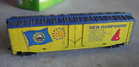 Vintage HO Scale Tyco New Hampshire State Box Car