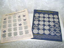 1969 FRANKLIN MINT SUNOCO ANTIQUE CAR COIN COLLECTION SERIES 1 & 2 37 / 50