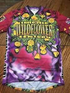 Louis Garneau Chico California Wildflower Century Jersey Ladies size Large