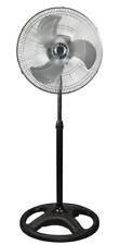 METAL Oscillating Pedestal 18-Inch Stand Fan HIGH SPEED FAN