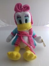 """BNWT Mickey Mouse Clubhouse bedtime buddies Daisy Duck 14"""" plush"""