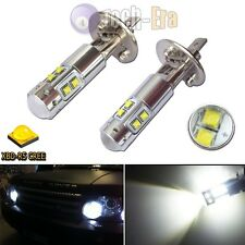 2PC HID White 1000LM H1 CREE LED High Power LED Bulbs for DRL Driving Fog Lights