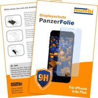 mumbi 3D Touch Folie für Apple iPhone 6 Plus / 6s Plus Schutzfolie klar Display