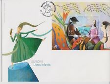 Portugal STAMPS FDC B 2010 Europa Madeira - Funchal cancel