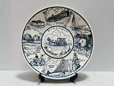 plate vintage collectable Historic Mackinac Island Fine American Ironstone hotel