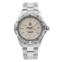 TAG Heuer Aquaracer Silver Dial 200m Steel Quartz Mens Watch WAF1112.BA0801