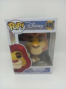 Disney The Lion King Mufasa Funko Pop Vinyl #495 figure