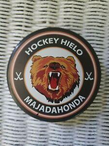 Hockey Hielo Majadahonda Official Team Gufex Puck Spain