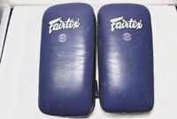 Fairtex Blue muay thai pads