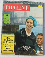 PRALINE 1962 Nr. 7: Mein Arbeitsplatz am Broadway