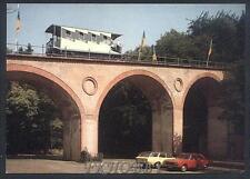 CPA Germany Wiesbaden Locomotive Train Lokomotive Zug Auto Bridge Brücke k151
