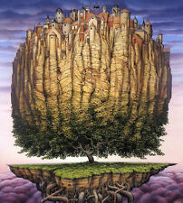 The Fantastic Art of Jacek Yerka : A Portfolio of Twenty-Two Paintings (New!)