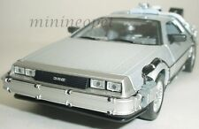 WELLY 22441W  BACK TO THE FUTURE TIME MACHINE DELOREAN 1/24 PART 2