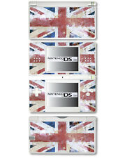 GB - Union Jack Flag Distressed Style -Vinyl Skin Sticker for Nintendo DS Lite