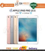 "Apple iPad Pro 10.5"" 2nd Gen 64/256/512GB Gray Silver Gold Rose Gold Unlocked"