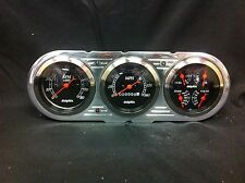 1963 1964 1965  CHEVY NOVA GAUGE CLUSTER BLACK