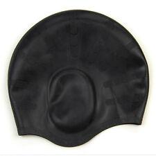 Stylish Sporty Silicone Swimming Swim Cap Bathing Hat Swimwear New