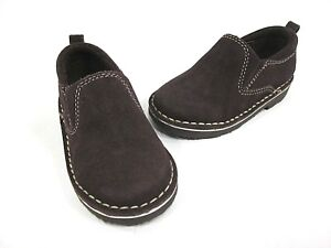 KENNETH COLE REACTION KICK WIT 2 SLIP ON, CHOCOLATE, US 6 M TODDLER, NEW W/O BOX