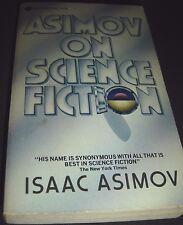Asimov on Science Fiction Isaac Asimov Avon Discus 1st Print April 1982 PB