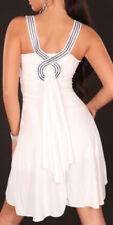 Vestiti da donna bianchi Koucla fantasia nessuna fantasia