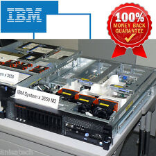 IBM X3650 M2 7947 2 x 2.80GHZ X5560 QUAD CORE 24GB DDR3 RPS ServeRAID BR10i SAS