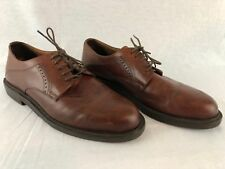 Johnston & Murphy Men's Brown Tan Size 11M Dress Shoes - Made Italy  Need repair