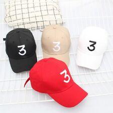 Chance The Rapper 3 Dad Hat Baseball Cap Adjustable Strapback Hip Hop Hat