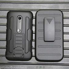 FuturArmor Hybrid Hard Back Case Cover For Motorola Moto G3 / (3rd Generation)