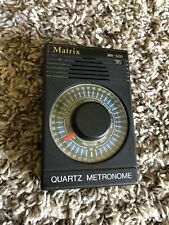 Matrix MR-500 Quartz Metronome Sound or Light Flash Cap Doesn't Fit Ok