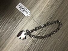 Charm Silver Bracelet- Nip Park Lane Jewelry Cherish Heart