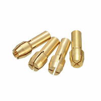 10Pcs Brass Drill Chuck Collet Bits 0.5-3.2mm 4.8mm Shank For Rotary Tool KY