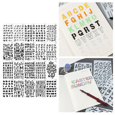 Letters and Numbers Alphabet Templates, Letter Stencils, Pack of 20 DIY