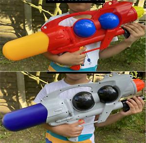 2 x Large 56cm Water Guns Pump Action Super Soaker Sprayer Garden Party Beach