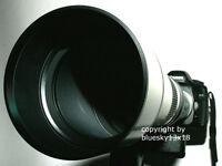 Teleobjektiv Walimex pro 650-1300 mm f Nikon 5500 5300 5200 5100 3300 3200 3100