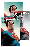 DC Comics SUPERMAN #1 Joshua Middleton Variant Set NM BATMAN WONDER WOMAN FLASH