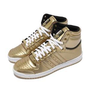 adidas Top Ten Hi Star Wars C-3PO Gold White Men Unisex Casual Lifestyle FY2458