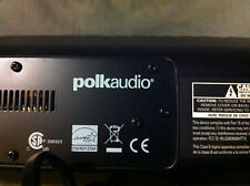 Polk Audio Surroundbar 3000 Speaker w/Subwoofer and remote control