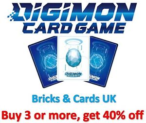Digimon Card Game Release Special Booster Ver.1.0 (BT01-03) - R / U / C Cards