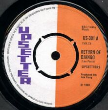 "THE UPSETTERS  RETURN OF DJANGO  US301 UK 7"""